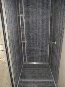 Strataflex Waterproofing in shower